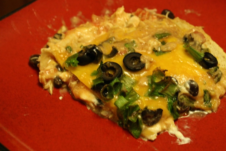 Little Mrs. Married: Low Carb Chicken Enchilada Bake
