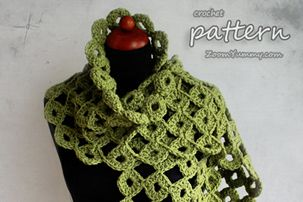 Long Chunky Crochet Scarf - Long Chunky Crochet Scarf