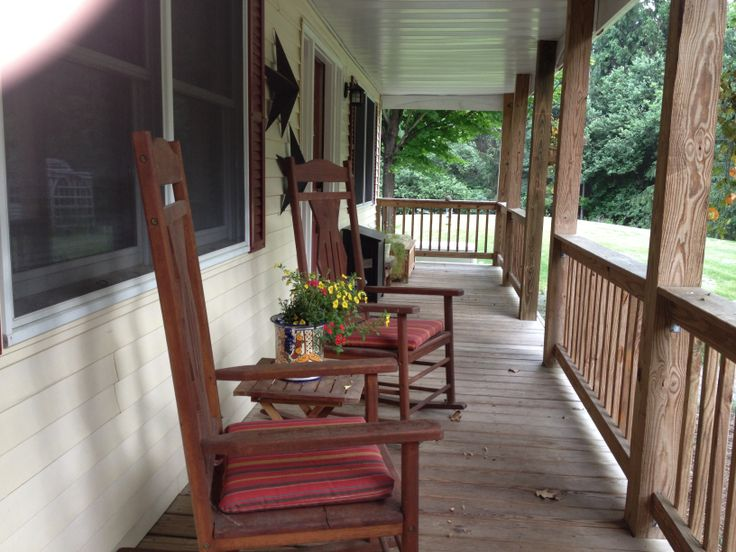 Front Porch Rocking Chairs My Style Pinterest