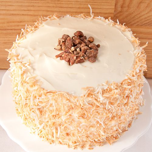 Hmmm who doesn't like carrot cake? Another cake to add to my list of ...