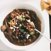 Beef and Dark Beer Chili - Bon Appétit