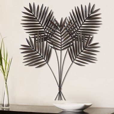 Tropical metal wall art jcpenney for the home pinterest for Tropical metal wall art