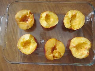 lovely clear and sweet.: Honey Baked Nectarines with Vanilla & Brown ...