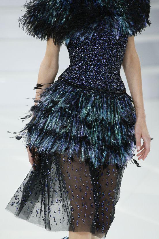 Détails défilé Chanel haute couture printemps-été 2014|88