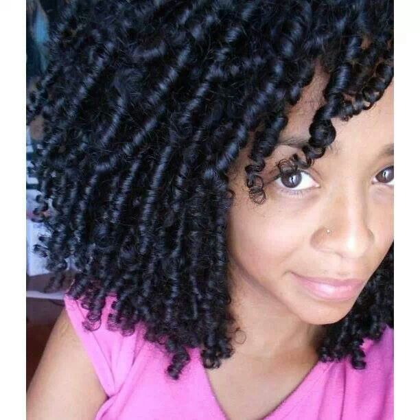 Finger Coils Hairstyles Pinterest