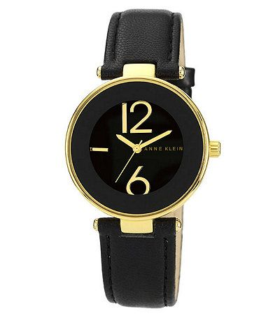 Black and gold watch available at dillards com dillards