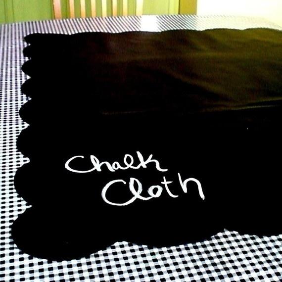 chalkboard tablecloth