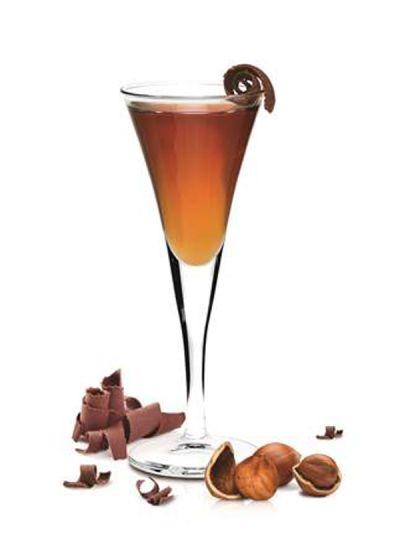 Frangelico Truffle Ingredients: 1 part Frangelico 1 part SKYY Vodka 3 ...