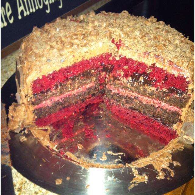 Rachel - Red velvet cake, chocolate pudding, chocolate cake, red ...