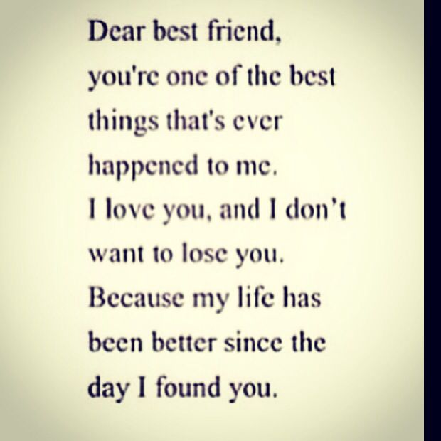 dear best friend quotes pinterest