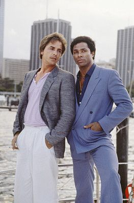 crockett tubbs that miami vice look