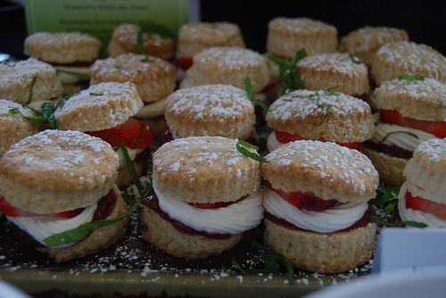 Strawberry Shortcake Sliders via Laura Lohr | My Beautiful Life