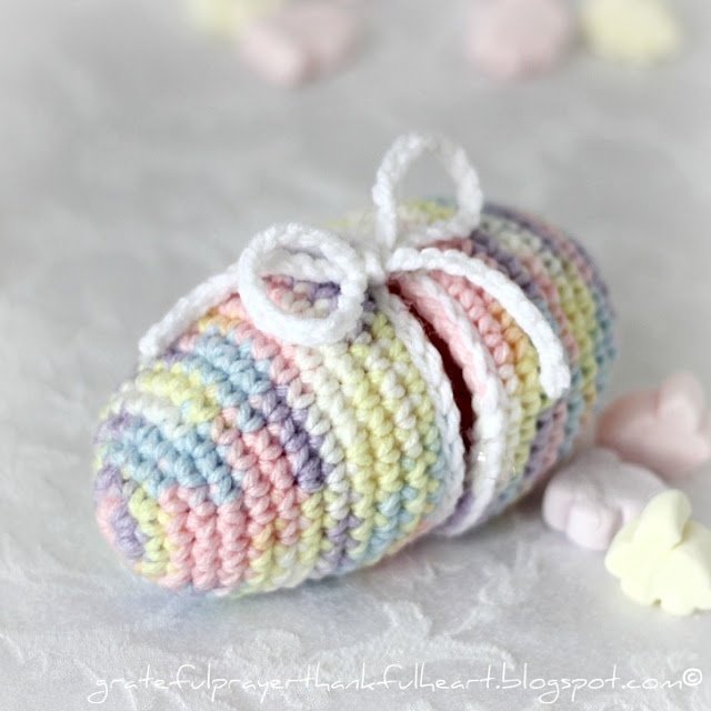 Crochet Easter egg - free pattern Easter Pinterest