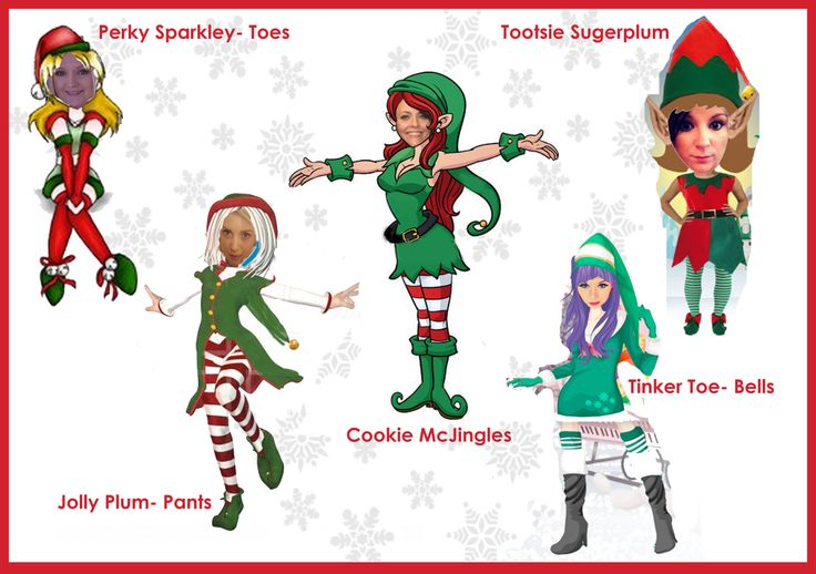 What is your Elf name? Naughty Christmas Elves at Henryka - eating all ...