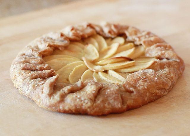 apple galette with gorgeous video recipe