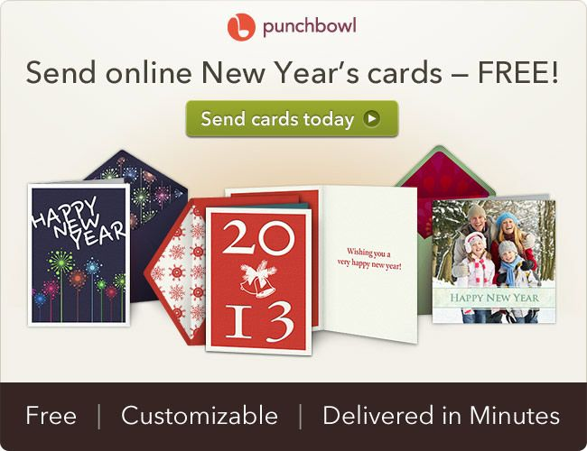 free new year ecards