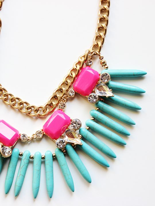 Layered Spike Necklace | Hello Cheeseburger