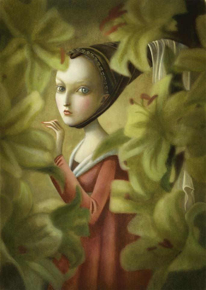 fleur de lys, Benjamin Lancôme, 2012
