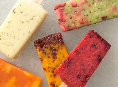 Blackberry-Orange Ice Pops Recipes — Dishmaps