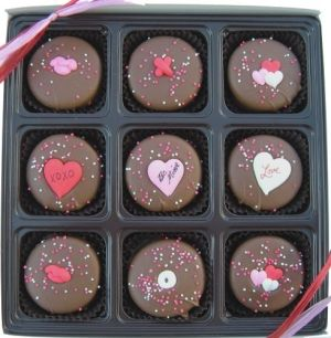 valentine day oreo cookies