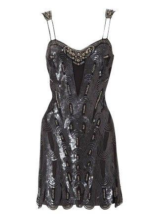 Karen millen beaded dress was 163 250 now 163 175 christmas sale