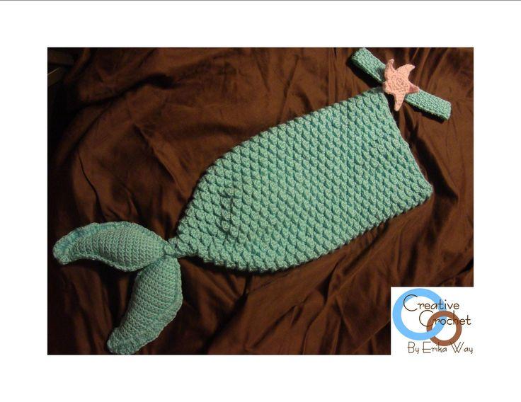 Free Crochet Mermaid Tail Pattern For Baby : Pin by Joan Hammock on baby Pinterest