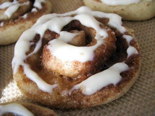 Cinnamon Roll Sugar Cookies? Yes