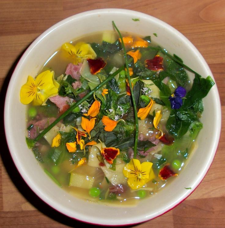 Spring Minestrone | Food: Starters/Soups | Pinterest