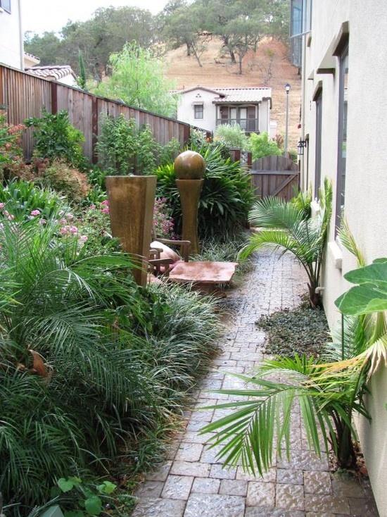 Mediterranean landscape design landscaping pinterest for Mediterranean garden design