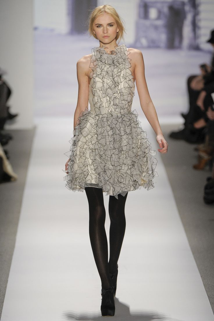 Tibi F/W 2011, New York Fashion Week | via aclockworkpink