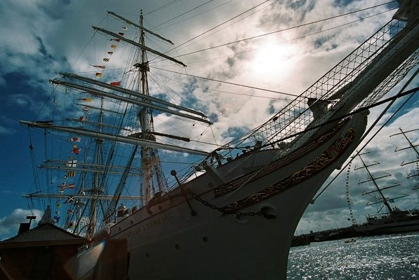 Tall Ships in Liverpool, July 2008