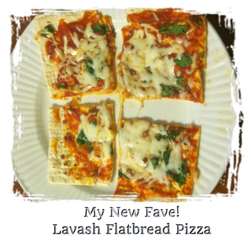 pizza that is as tasty as it is healthy! This Lavash Flatbread Pizza ...