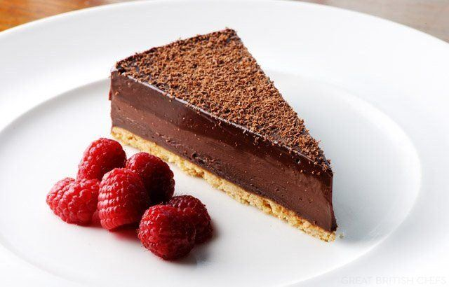 chocolate tart recipe from Dominic Chapman is a simple-to-make tart ...