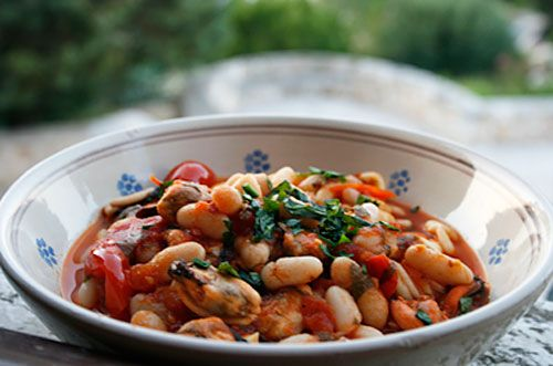 Italian Food Forever » Cavatelli With Mussels And White Beans