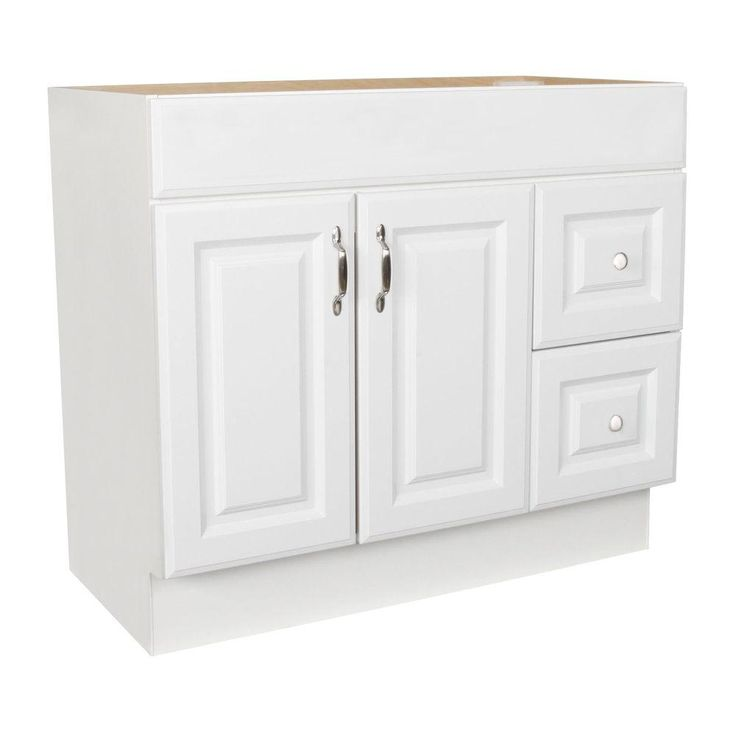 Arkansas 36 in w x 18 5 in d x in h vanity cabinet only in for 36 x 18 bathroom vanity cabinet