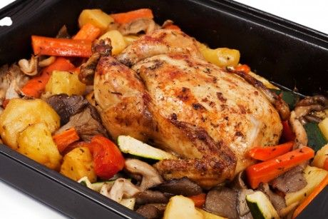 Braised Chicken Breasts with Sweet Onion, Carrots, and Parsnips ...