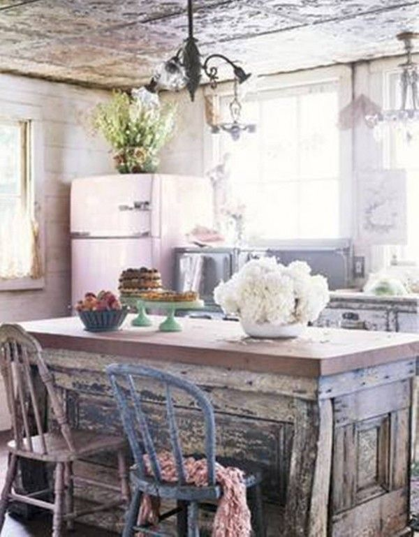 Cute shabby chic kitchen decor pinterest - Shabby chic kitchen ...
