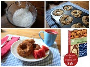 Apple Cinnamon Doughnuts, GAPS legal. | Recipes | Pinterest
