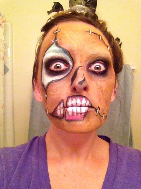 Scary Scarecrow Makeup