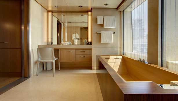 Musashi Yacht Bathroom Luxury Yachts Pinterest