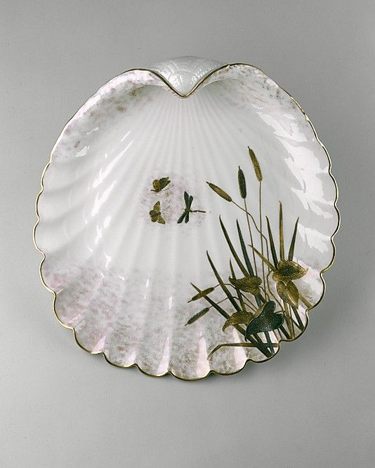 Tray  Made by Ott and Brewer (1871–1893)  Date: 1876–83
