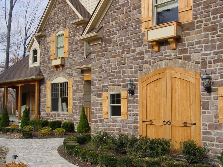 French Country Exterior House Ideas Pinterest