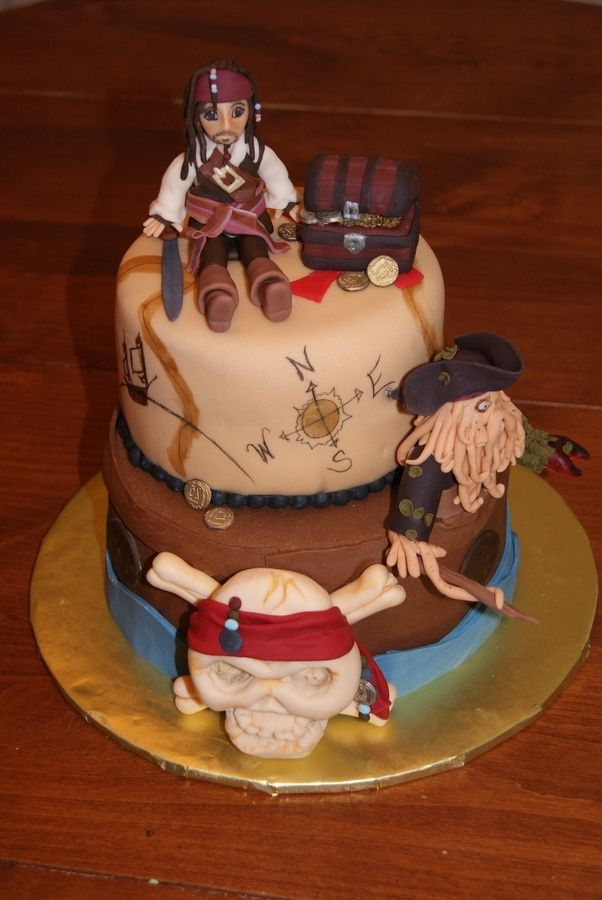 Pirates of the Caribbean Cake | visit cakecentral com