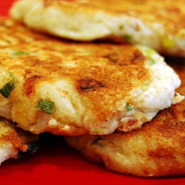 Mashed Potato Breakfast Pancakes Recipe from Grandmothers Kitchen.