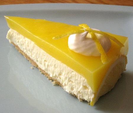 Creamy Lemon Supreme Cheesecake! My favorite!