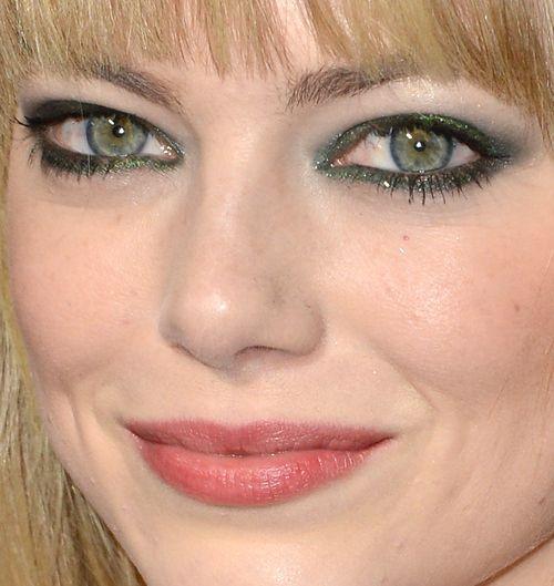 emma stone green eyes | I love make up | Pinterest Emma Stone