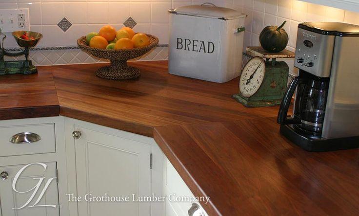 Cherry Wood Countertop Kitchen Design Ideas Pinterest