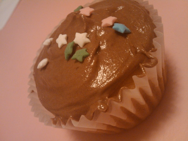vegan  vanilla  cupcake from Vegan Cupcakes Take Over the World