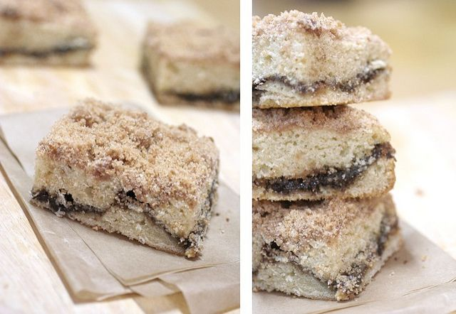 Extra Crumb Cinnamon-Streusel Sour Cream Coffee Cake