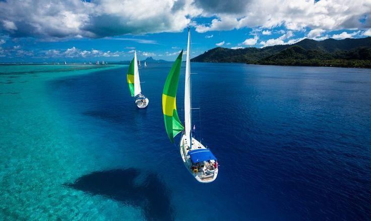 sailing regatta, tahiti